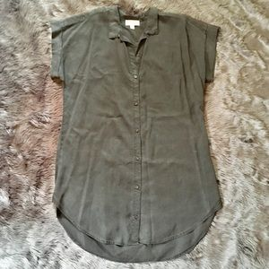 Anthropologie Cloth & Stone Dress Tunic Large  L